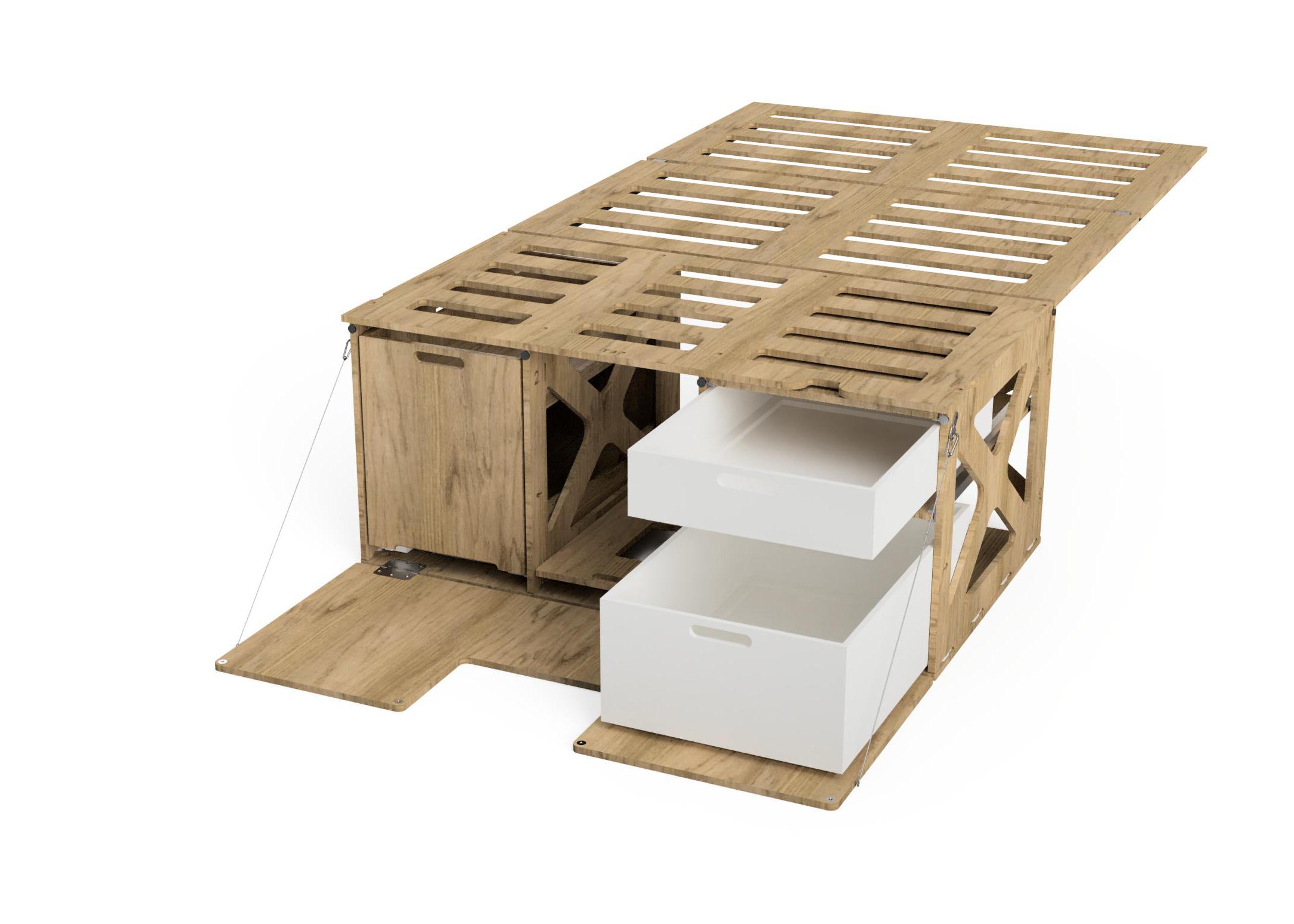 Camperkit - Campingbox für Citroën Berlingo